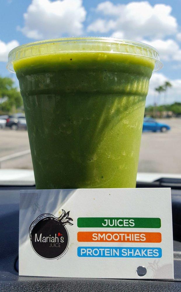 Mariah's Juice: 935 N Beneva Rd, Sarasota, FL
