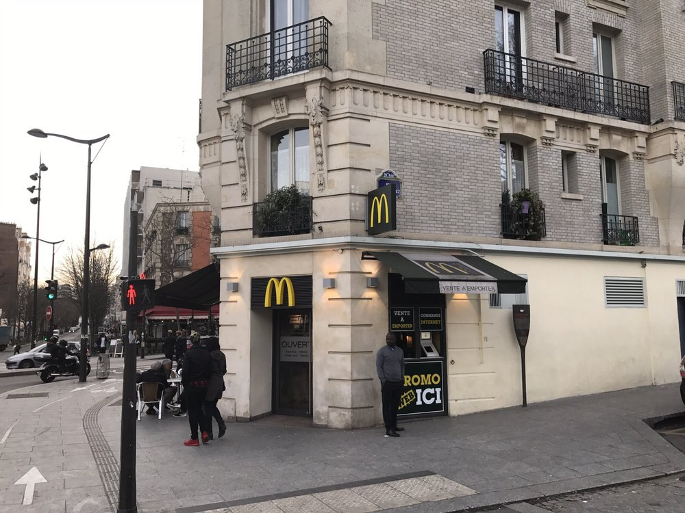mcdonald s takeaway fast food 49 rue belgrand. Black Bedroom Furniture Sets. Home Design Ideas