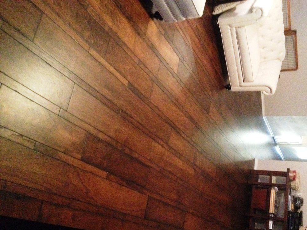 Beautiful multi width hardwood floor installation yelp for Hardwood floors san antonio
