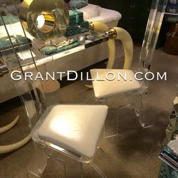 Photo Of GrantDillon.com   Burbank, CA, United States. Vintage Lucite Chairs