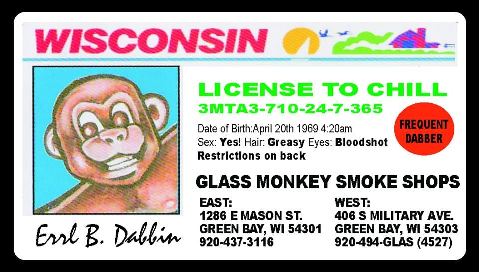 Glass Monkey: 1286 E Mason St, Green Bay, WI