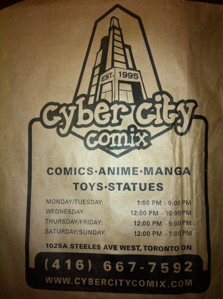 Cyber City Comix