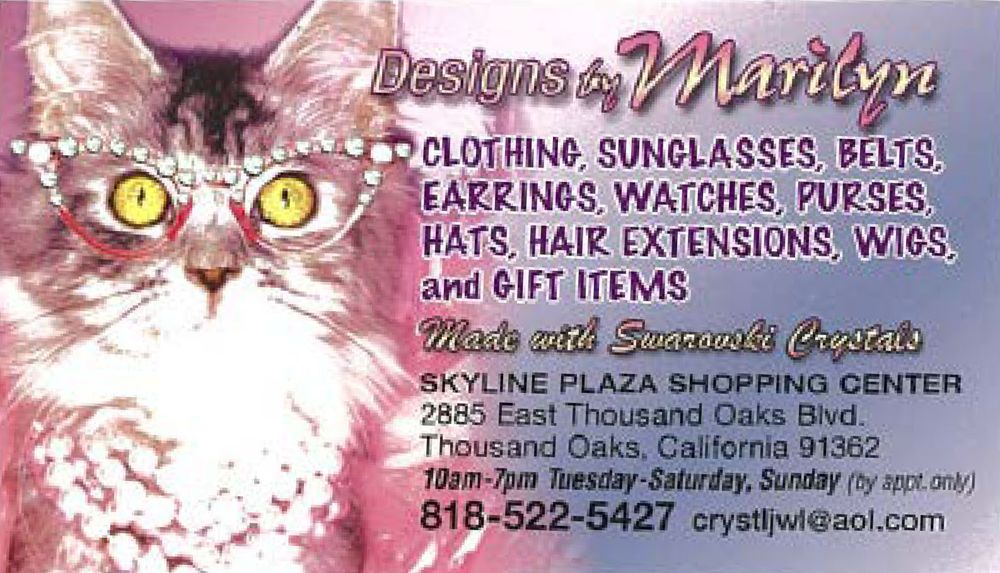 Designs by Marilyn: 2885 East Thousand Oaks Blvd, Thousand Oaks, CA