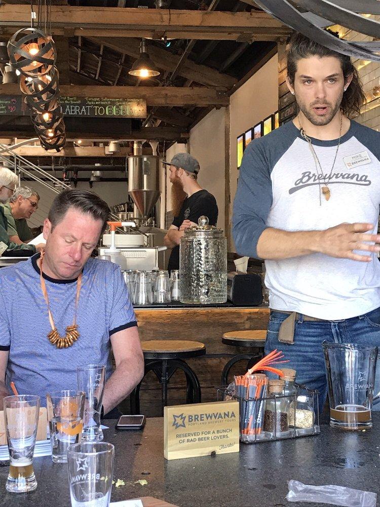 Brewvana Portland Brewery Tours