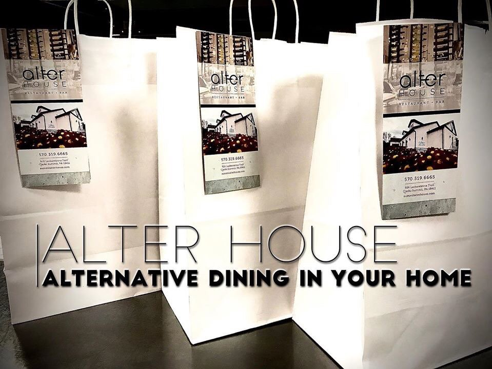 Food from Alter House Restaurant & Bar