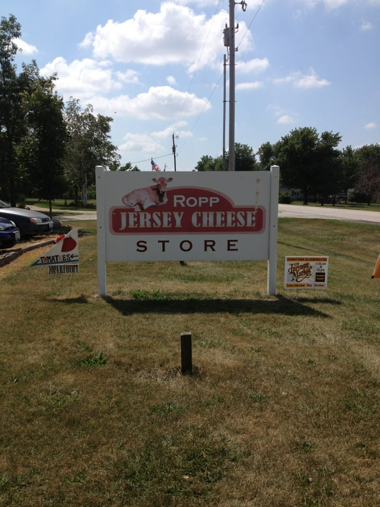 Ropp Jersey Cheese: 2676 Ropp Rd, Normal, IL
