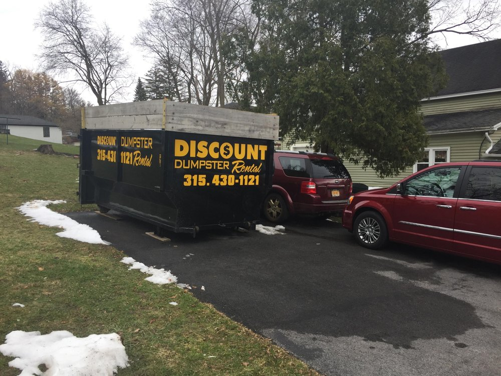 Discount Dumpster Rental: 4943 W Taft Rd, Liverpool, NY