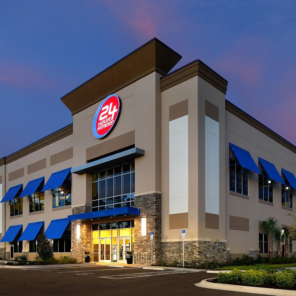 24 Hour Fitness - Kirkman: 1101 Resource Avenue, Orlando, FL