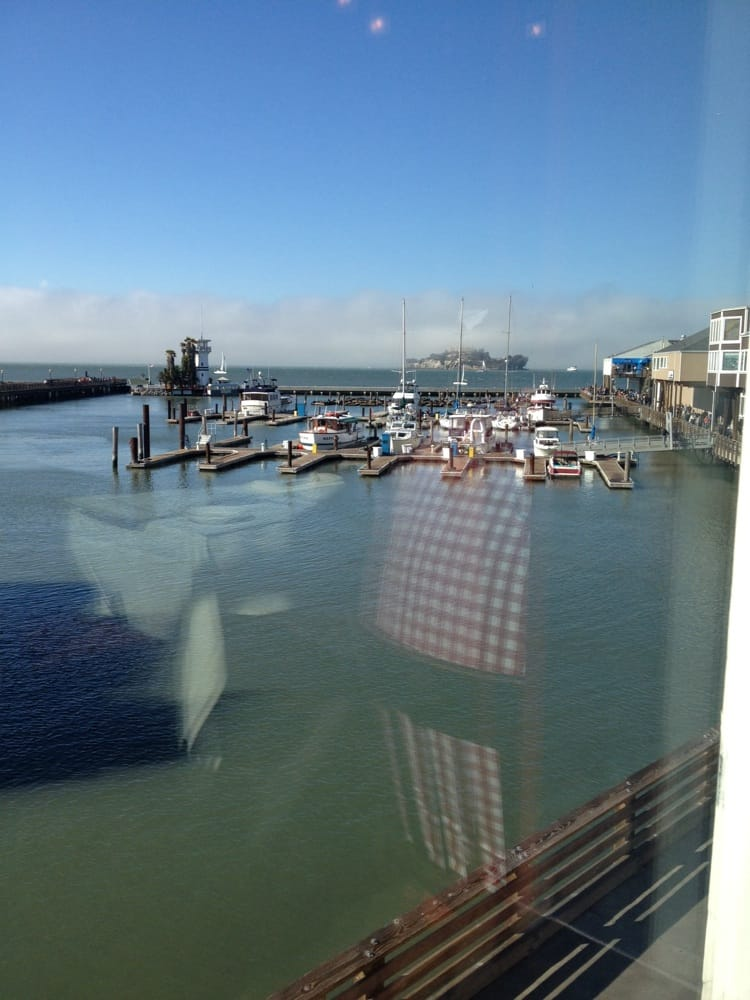 View from our table yelp for Fog harbor fish house san francisco