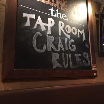 Uber tap room menu patchogue