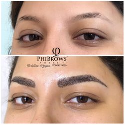 Photo Of Microblading Eyebrows By Christine   Garden Grove, CA, United  States. Customer