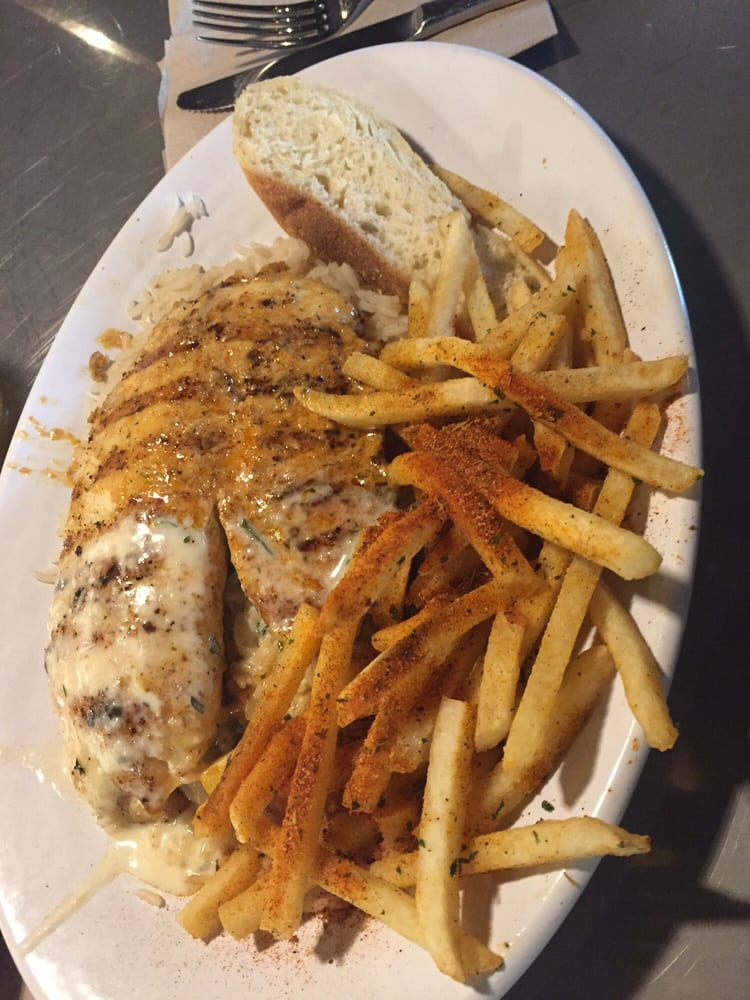 Grilled tilapia cajun seasoned fries yelp for California fish and grill