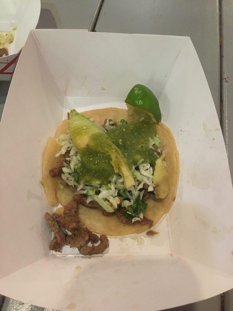Food from Tin-Tan Tacos