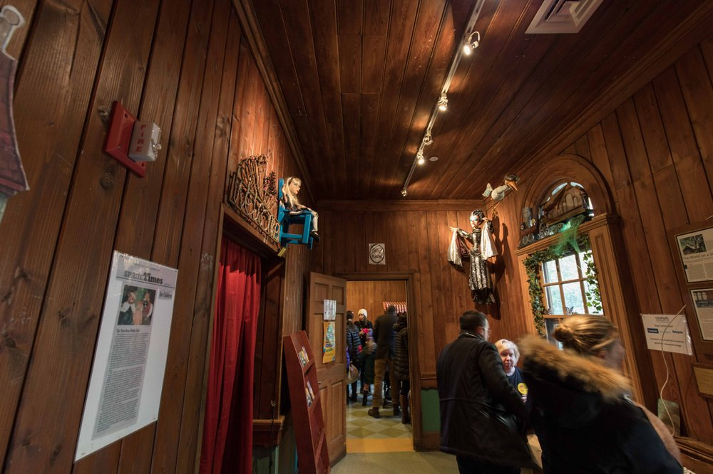 Swedish Cottage Marionette Theater