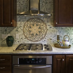 Fine Kitchen Design Victor Ny Suburbs Throughout Inspiration