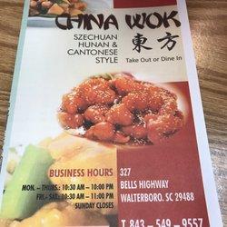 20 China Wok
