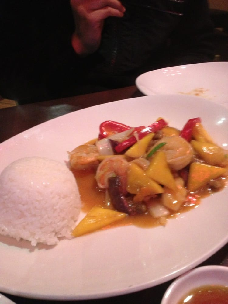 Prawns with mango yelp for Asian cuisine san francisco