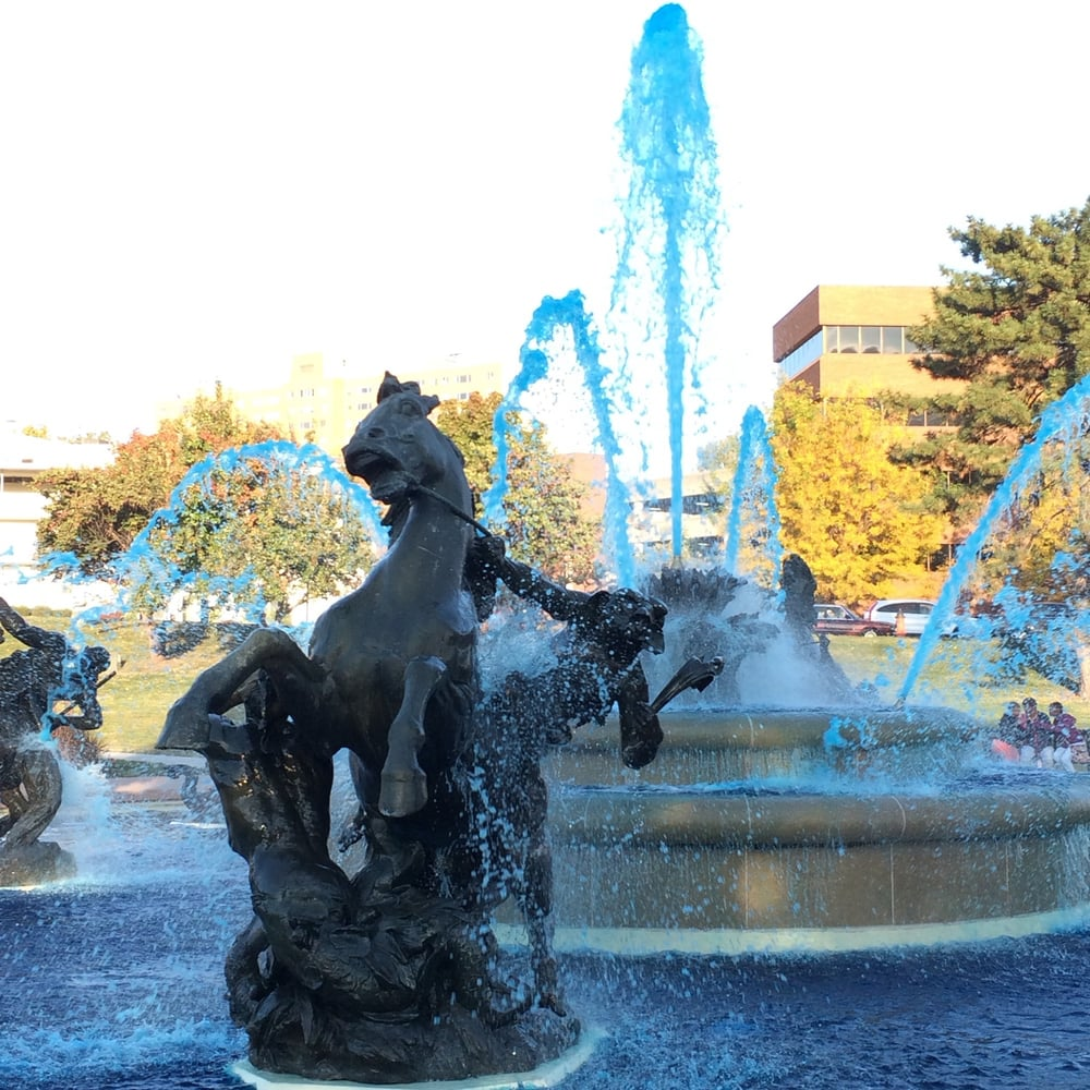 JC Nichols Memorial Fountain