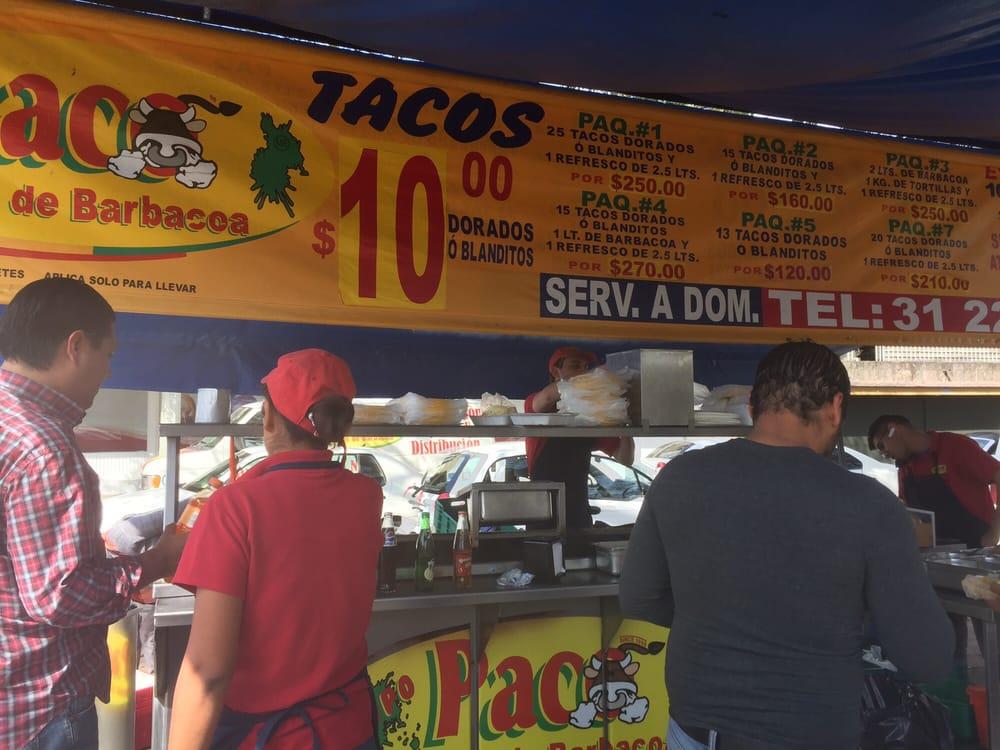 Tacos Paco Taquer As Calle El Sol S N Guadalajara