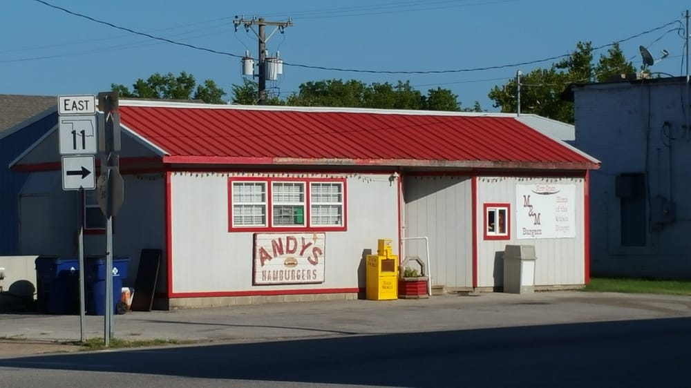 Andy's Hamburgers: 105 S 5th St, Barnsdall, OK