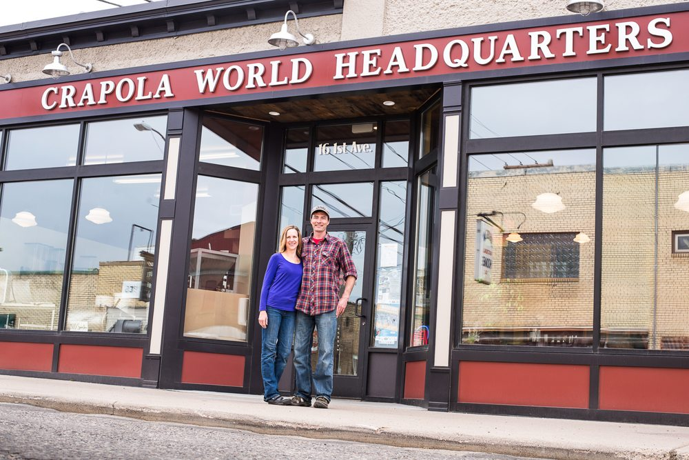 Crapola World Headquarters: 16 N 1st Ave E, Ely, MN
