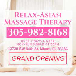 Erotic massage parlor miami