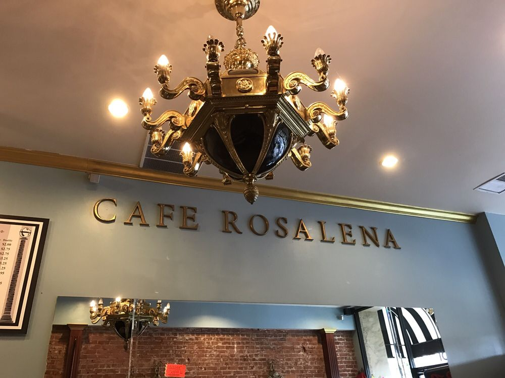 Cafe Rosalena Menu San Jose