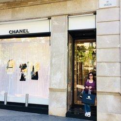 c76d841b4 Photo of Chanel - Barcelona, Spain. Chanel Barcelona at Passéig De Gracia,  Spain