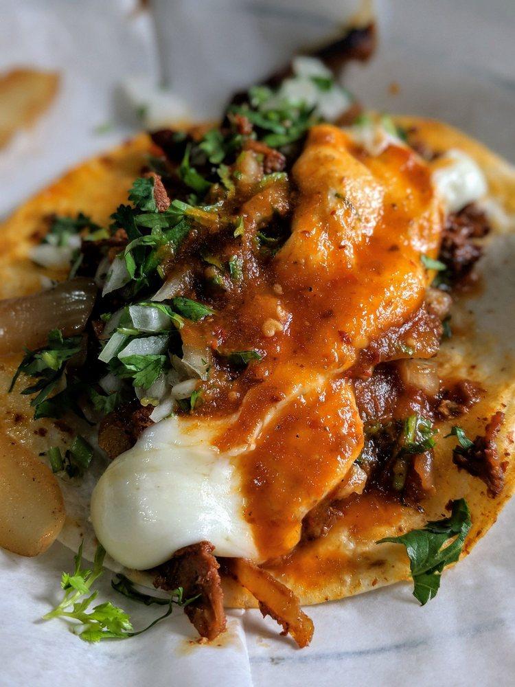Food from Taqueria Mi Pueblo