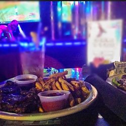 Seldom.. Strip club food review well, that