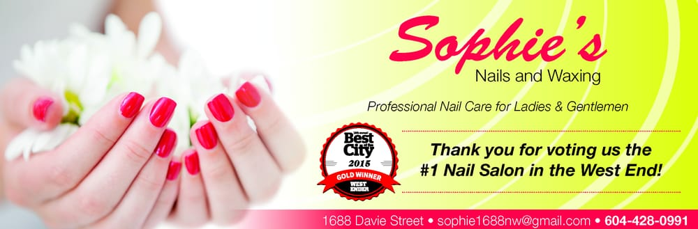 We are voted the best nail salon in Vancouver city West-End, Thank ...