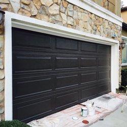 Photo Of Marinu0027s Painting Services   Inglewood, CA, United States. Garage  Door Painting ...