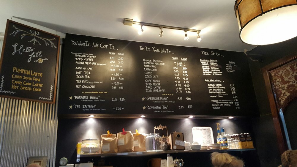 Left Bank Coffeehouse: 701 Greenup St, Covington, KY