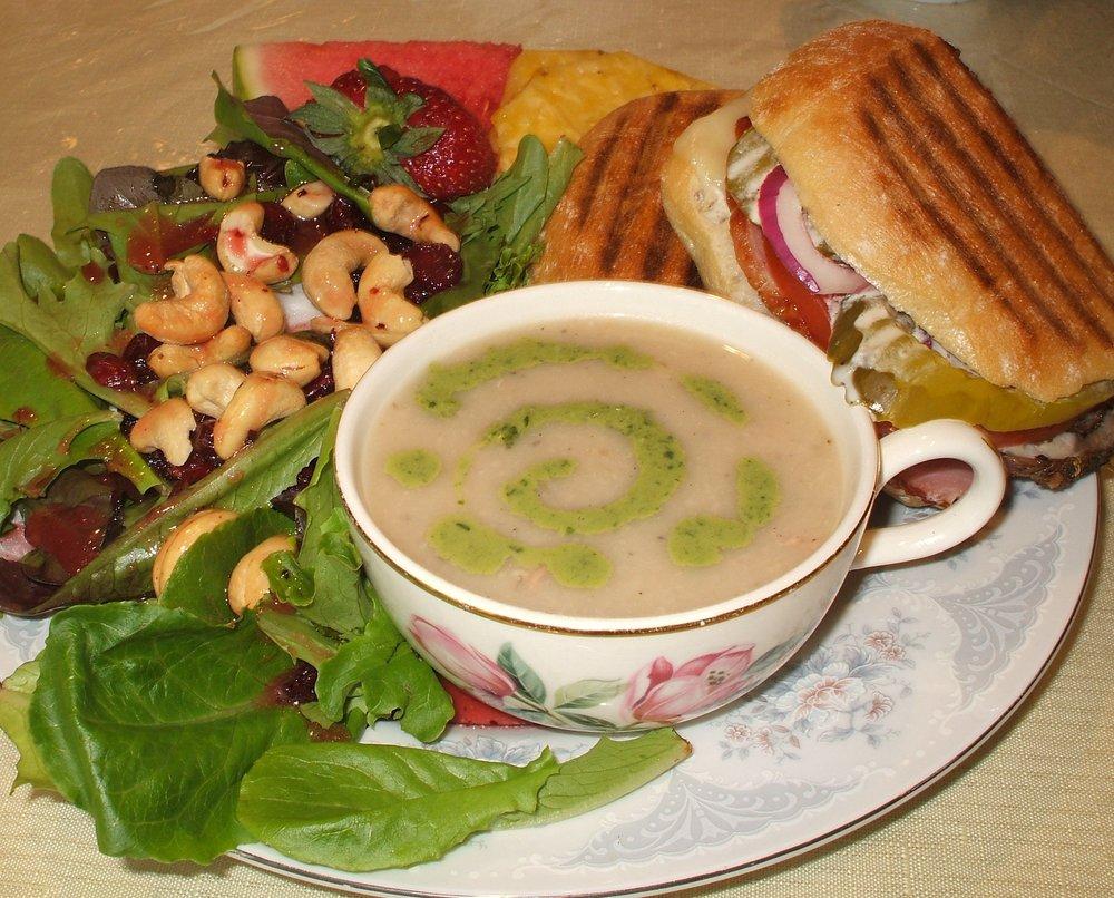 Calla Lily Victorian Tea Room: 83 S LaSalle St, Aurora, IL