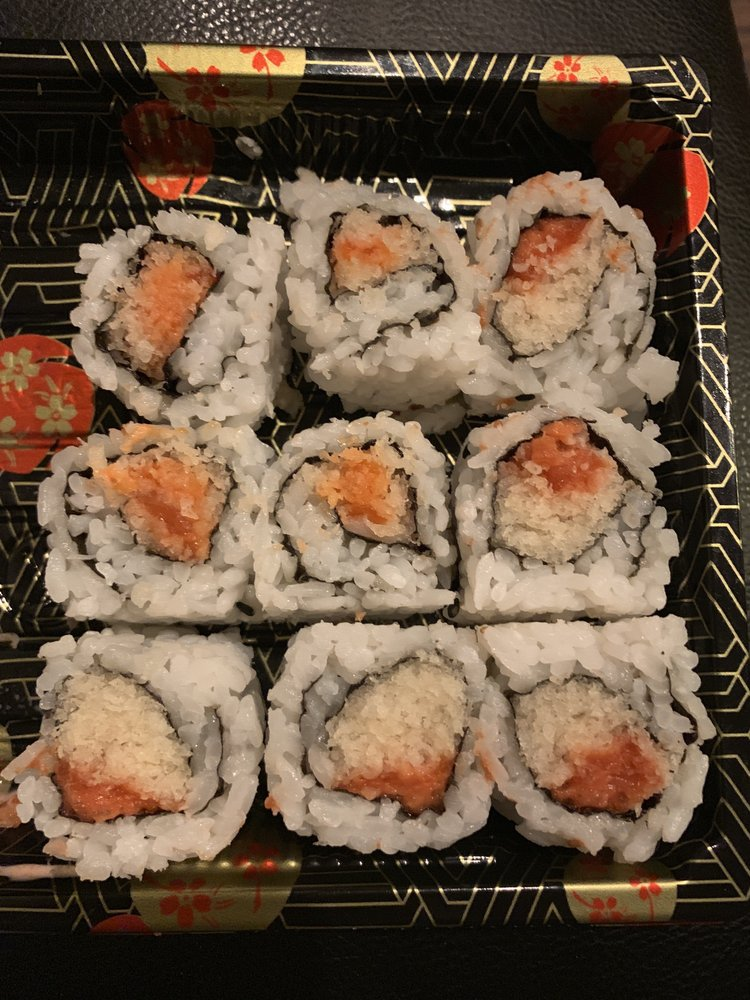 Food from Sushi House 21