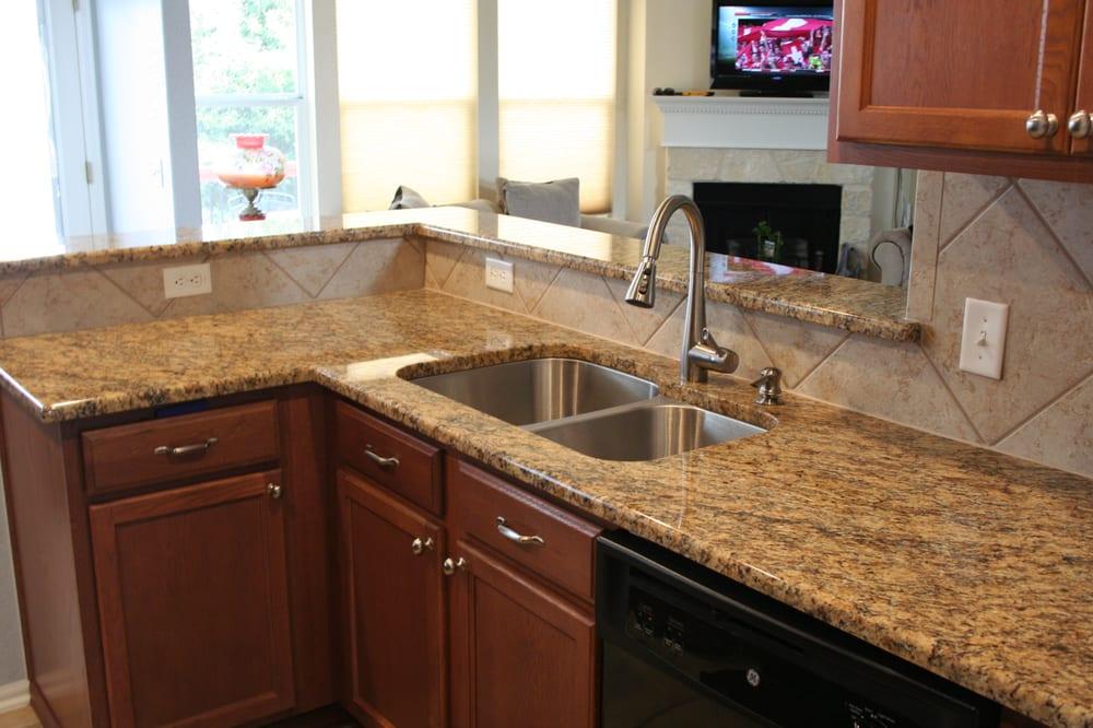 Photo Of Fox Granite Austin Tx United States Santa Cecilia Countertop