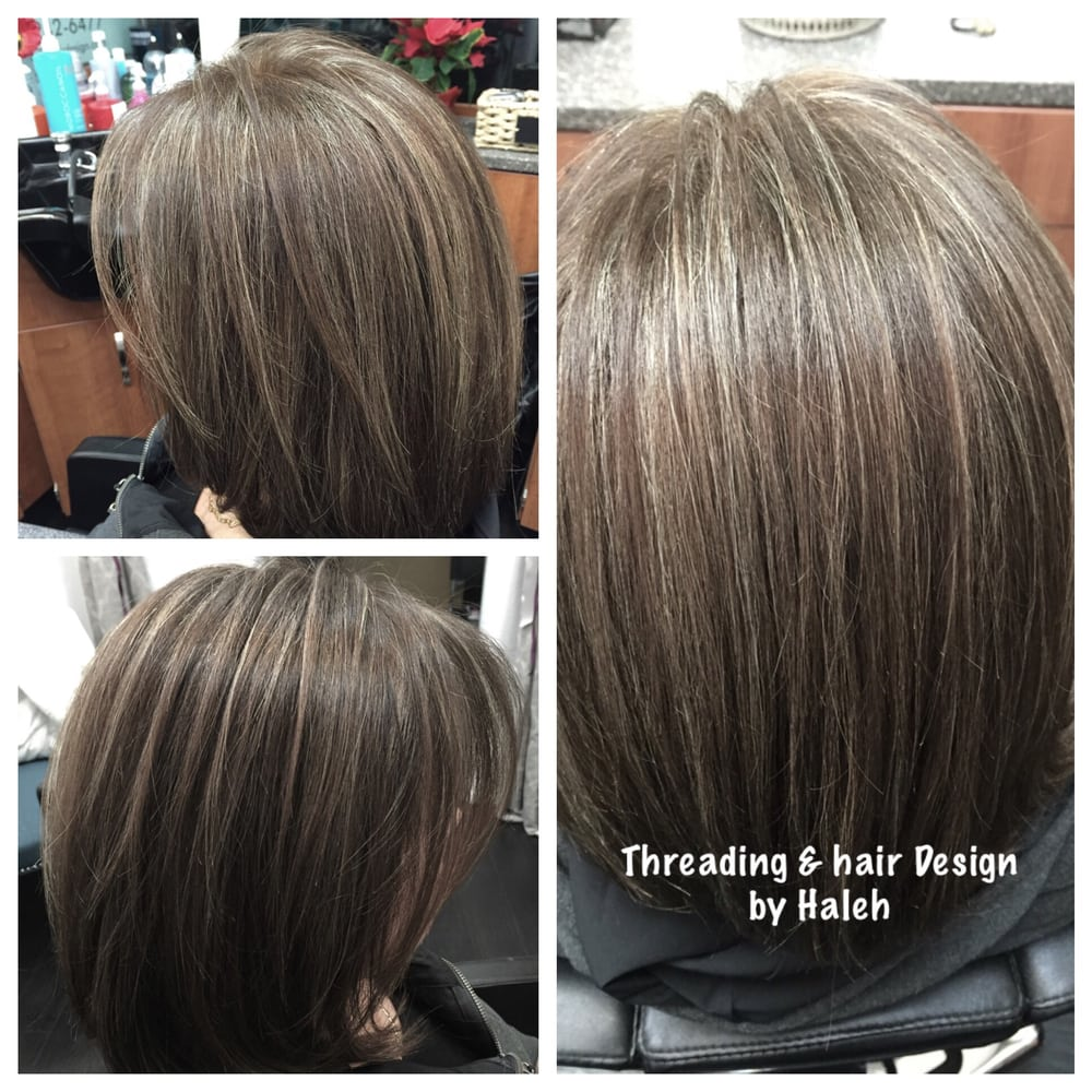 Thin Highlights Amp Ash Brown Color Yelp
