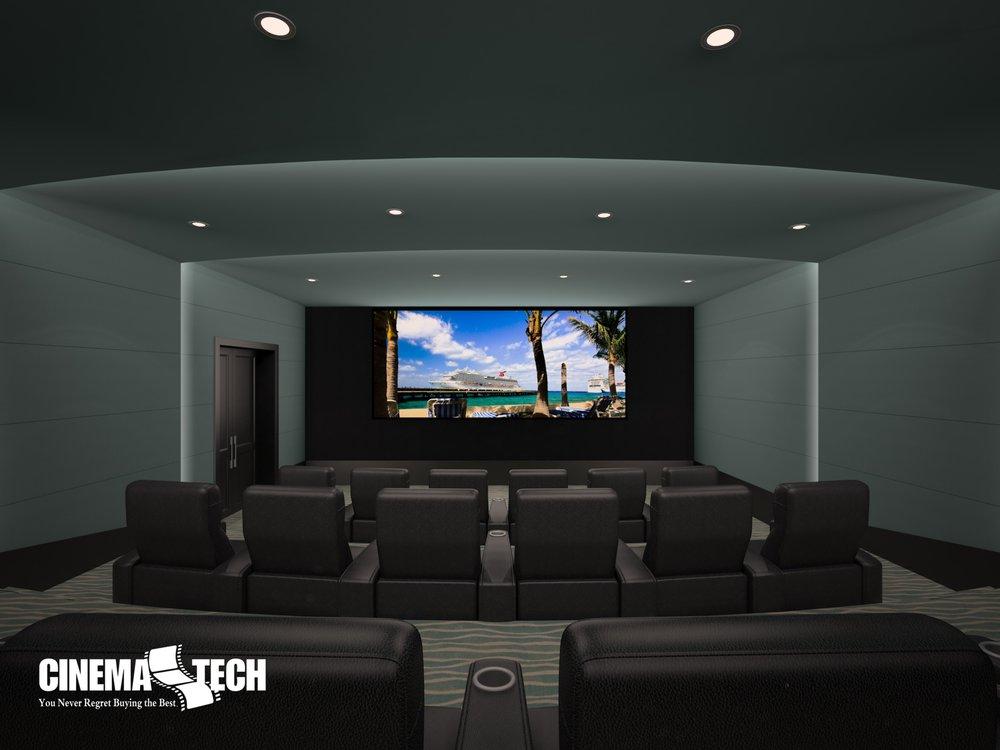 Home Theater Design Group: 4284 Kellway Cir, Addison, TX