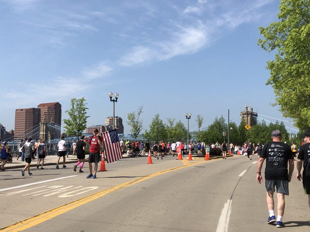 Cincinnati Flying Pig Marathon: 644 Linn St, Cincinnati, OH