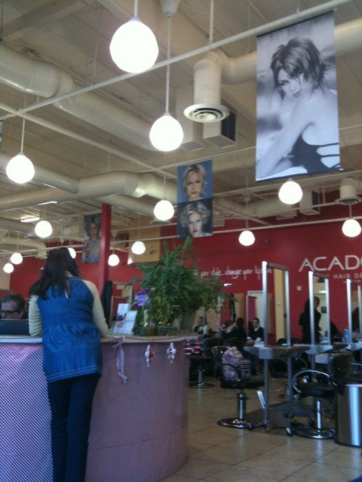 Sign in at front desk yelp for Academy for salon professionals yelp