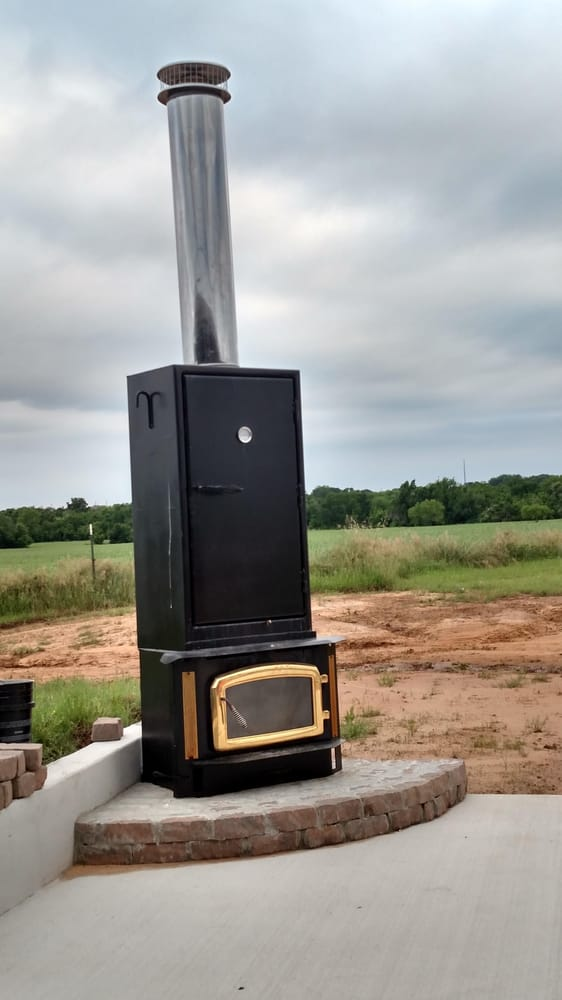 Fireplace Insert Converted To An Upright Smoker Yelp