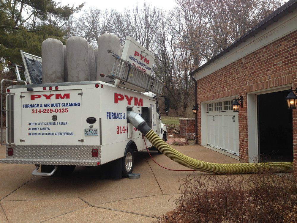 PYM Air Duct Cleaning: 1107 Bromfield Ter, Ballwin, MO