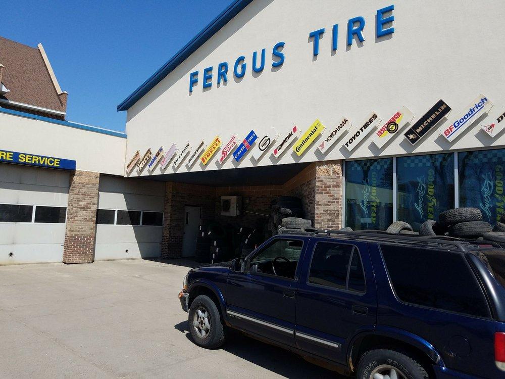 Fergus Tire Center: 222 W Cavour Ave, Fergus Falls, MN