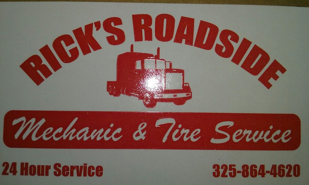 Rick's Mobile Mechanics and  Tire Service: 2322 North Access Rd, Clyde, TX