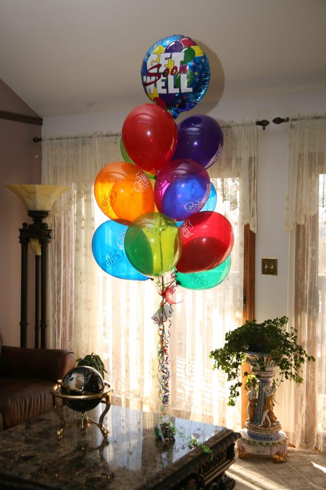 ABC Stuck on Balloons
