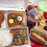 From Jb Looking Out Photo Of Jollibee Virginia Beach Va United States Enjoy Palabok Burger Steak