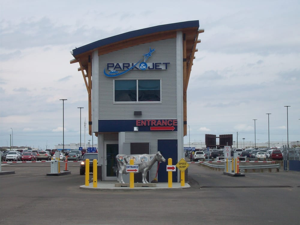 Calgary airport park and jet coupons