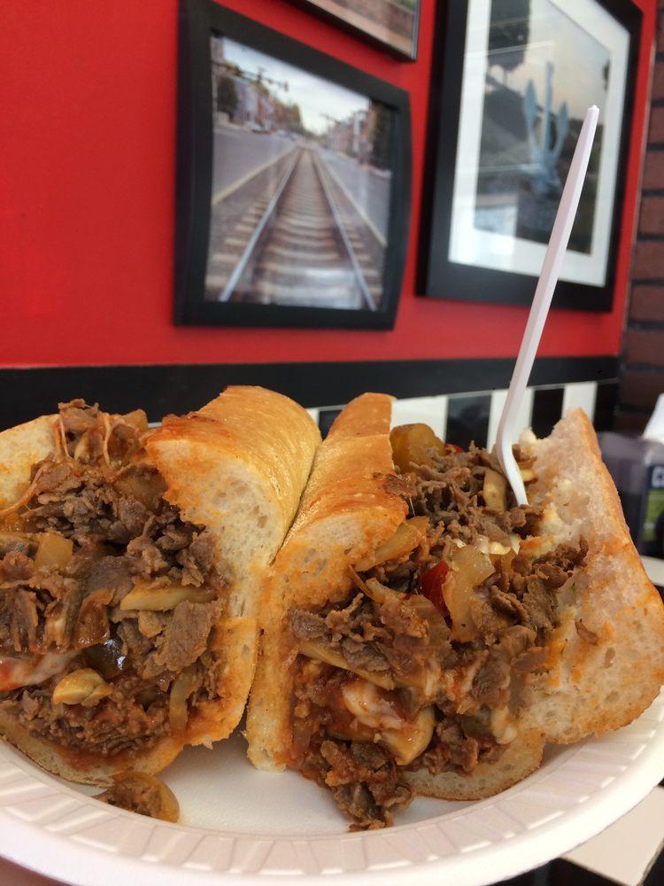 City Steaks: 818 High St, Burlington, NJ