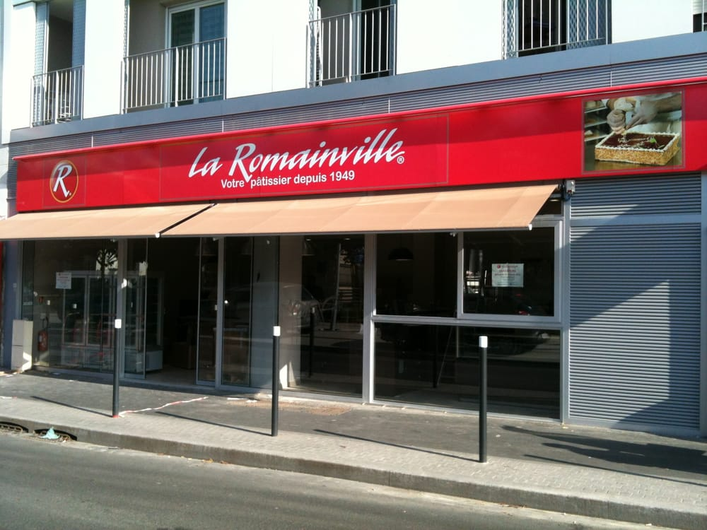 La romainville boulangeries p tisseries 104 rue for Patisserie saint denis