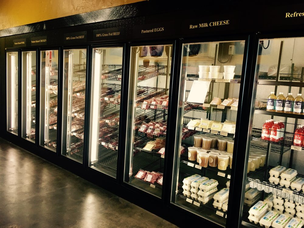 Burgundy's Local Grass Fed Meat Market